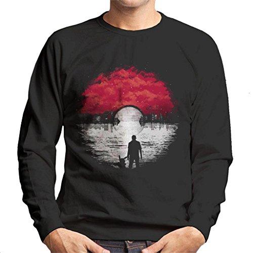 Pokemon Go Cityscape Men's Sweatshirt