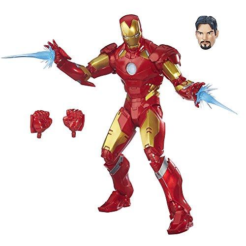 Avengers- Marvel Legends Figura Iron Man, Multicolor (Hasbro...
