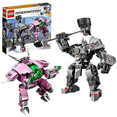 LEGO 75973 Overwatch D.Va & Reinhardt (Descontinuado por...