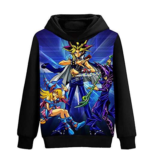 Yu-Gi-Oh Pullover Suéter Estampado Ocio Sudaderas con...