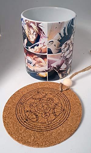 HobbyElx Taza y Adorno Fullmetal Alchemist