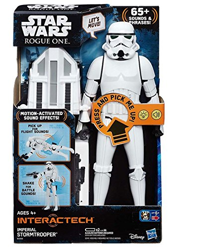 Star Wars Rogue One- Figura interactiva, 30 cm (Hasbro...