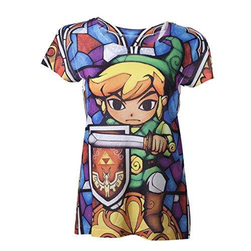 The Nintendo: Legend Of Zelda - Zelda Sublimation (T-Shirt...