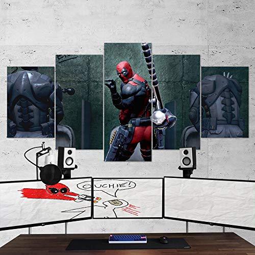 Deadpool Lienzo decorativo para pared – Lienzo de Deadpool...