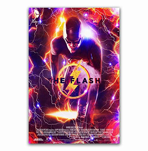 MZCYL Canvas Painting Wall Art Picture The Flash 2018 DC...