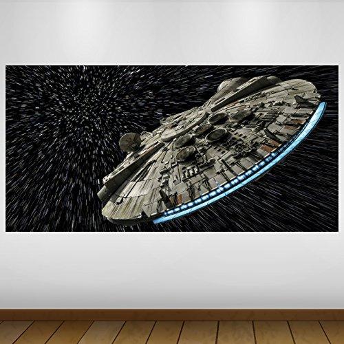 Extra Grande Espacio Star Wars Halcón Milenario de la...