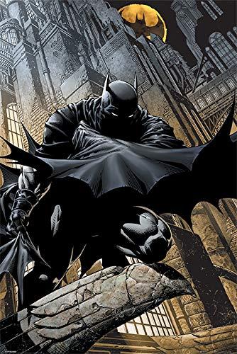 Batman Póster Grande de DC Comics Vigilancia Nocturna,...