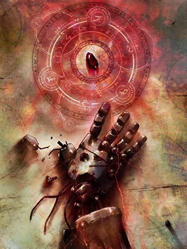 14inch x 19inch/35cm x 47cm Fullmetal Alchemist Silk Poster