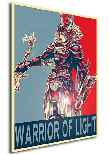 Instabuy Propaganda Posters Final Fantasy I - Warrior of...
