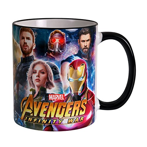 Elbenwald Avengers Cup Heroes Collage Infinity fue 320ml...