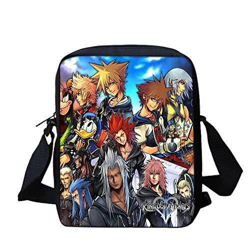 Kingdom Hearts Mochilas Mochila pequeña y Colorida sobre...