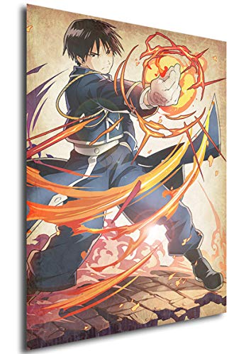 Instabuy Posters Full Metal Alchemist Wanted Roy - A3 (42x30...