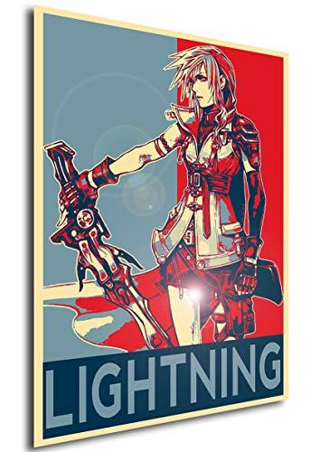 Instabuy Propaganda Posters Final Fantasy XIII - Lightning -...