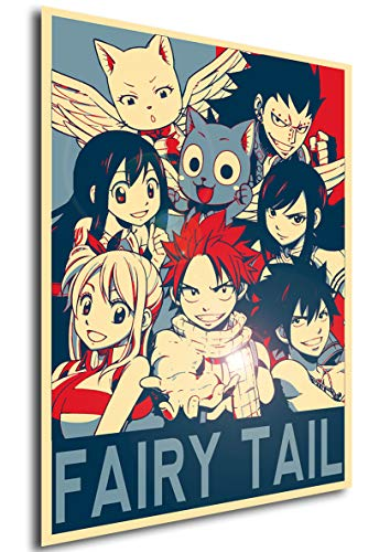 Instabuy Poster Fairy Tail Propaganda Characters - A3 (42x30...