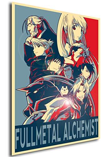Instabuy Poster Propaganda - Fullmetal Alchemist -...