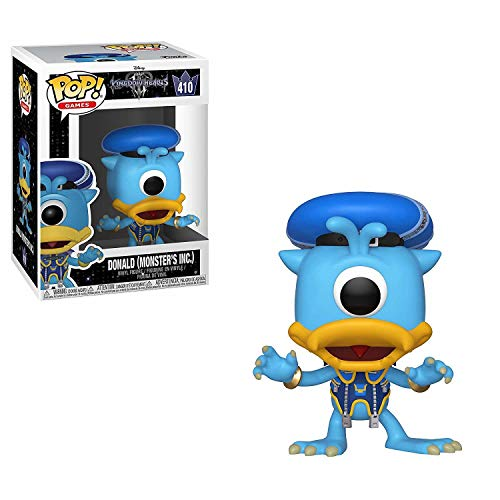 Funko 34059 POP Vinyl: Kingdom Hearts 3: Donald (Monsters...