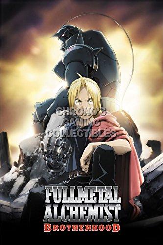 CGC enorme–Póster de Fullmetal Alchemist Anime...