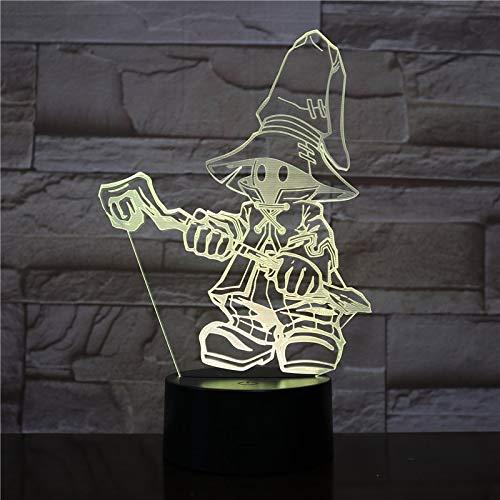Juego de lámpara de mesa 3D VIVI Ornitier FINAL FANTASY IX...