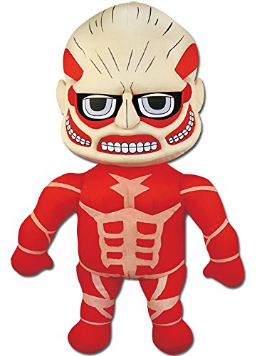 Great Eastern Attack On Titan Colossal Titan Plush Toy, 18...