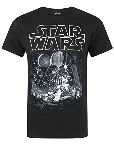 Star Wars Camiseta Nueva Esperanza Cartel Oficial de los...