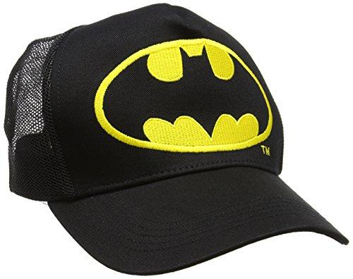 Batman Logo Gorra de bisbol, Negro, Talla única Unisex...