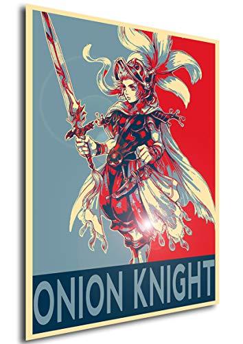 Instabuy Propaganda Posters Final Fantasy III - Onion Knight...