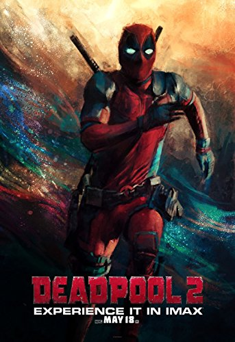 Poster Deadpool 2 Movie 70 X 45 cm