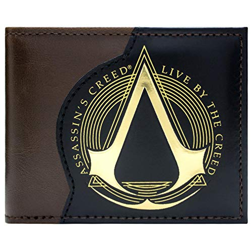 Cartera de Assassins Creed Vivo por el Credo marrón