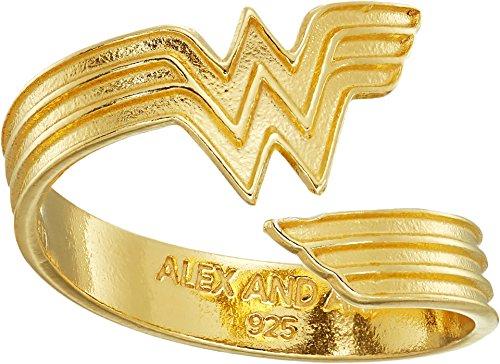 Alex and Ani - Anillo Wonder Woman para mujer