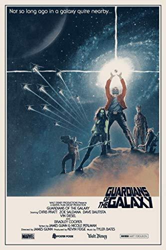 Guardianes de la Galaxia–Póster impreso de la...