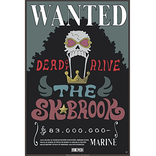 ABYstyle - Póster de One Piece - 'Wanted Brook New' (52 x...