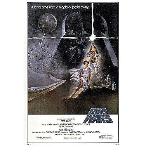 Grupo Erik - Póster Star Wars La Guerra De Las Galaxias...
