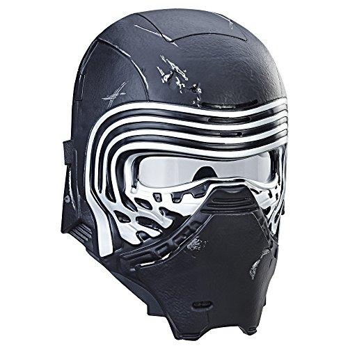 Star Wars Mascara electrónica Kylo REN, Multicolor (Hasbro...