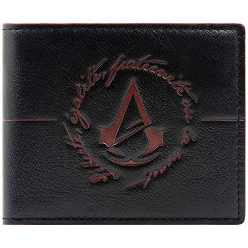 Cartera de Ubisoft Assassins Creed Unity Logo Negro