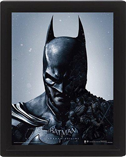 Batman Arkham Origins 10 x 20,32 cm de Batman con Marco con...