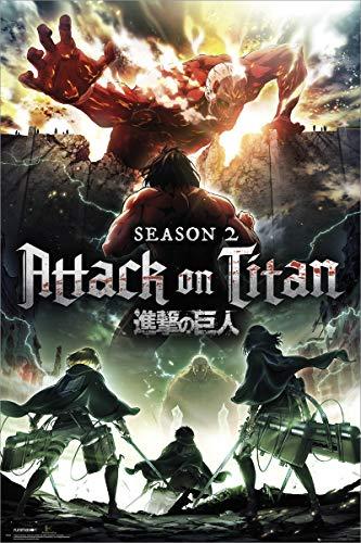 Grupo Erik Editores Poster con diseño Attack On Titan...