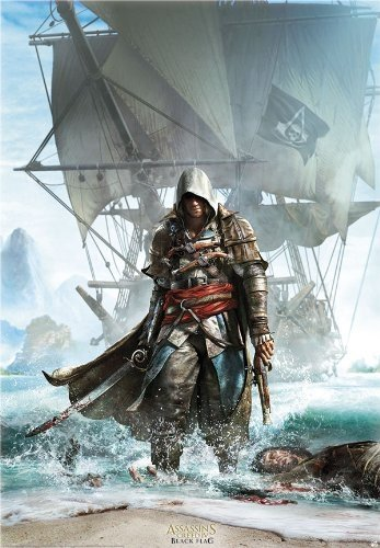 ABYstyle - Poster - Assassins Creed - Edward débarquant...