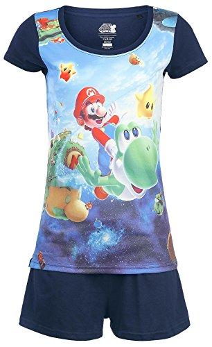 Super Mario Galaxy 2 Pijama Multicolor L