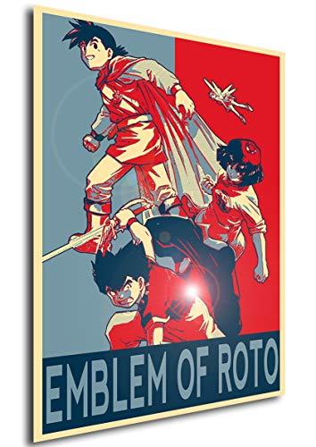 Instabuy Poster - Propaganda - Dragon Quest - Emblem of Roto...