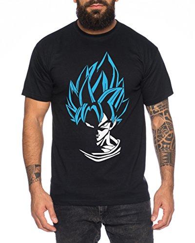 WhyKiki Super Son Goku Camiseta de Hombre Goku Dragon Master...