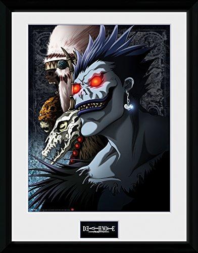 GB Eye, Death Note, Shinigami, Fotografia Enmarcada, 40 x 30...