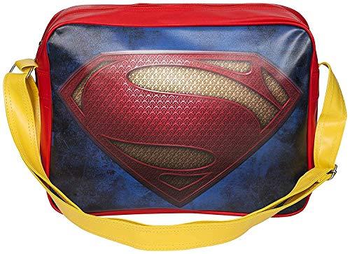 Superman De Lujo Bolso bandolera estilo Retro Bolsa de...