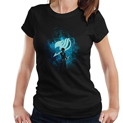 Cloud City 7 Fairy Tail Gray Fullbuster Silhouette Women's...