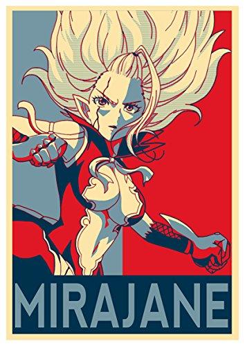 Instabuy Poster Fairy Tail Propaganda Mirajane Variant - A3...