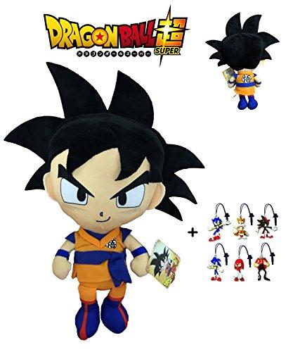 PBP Dragon Ball Super - Peluche Goku, Pelo Negro 30cm...