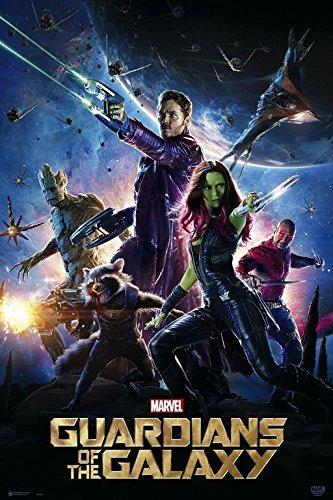 ERIK - Póster Los Guardianes de la Galaxia, Marvel, 61x91,5...