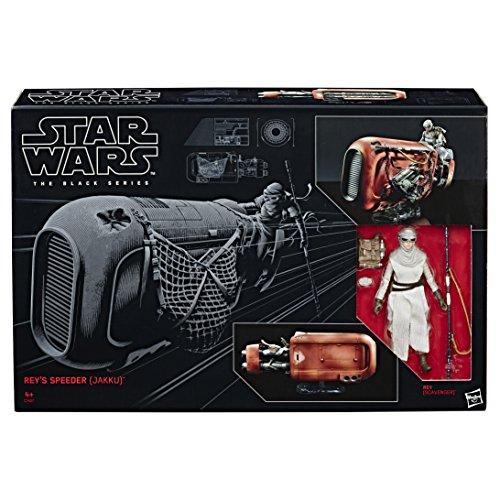 Star Wars Rey's Figura Rey con Speeder Jakku (Hasbro...