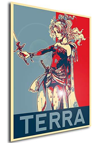 Instabuy Propaganda Posters Final Fantasy Vi - Terra - A3...