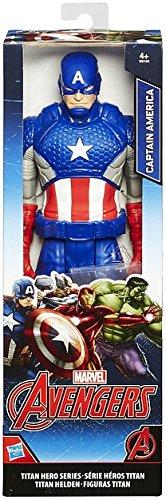 Marvel Avengers - Figura Capitán América, 30 cm (Hasbro...