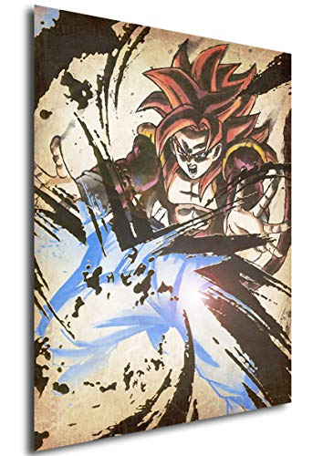 Poster Dragon Ball 'Wanted' Gogeta SS4 - A3 (42x30 cm)